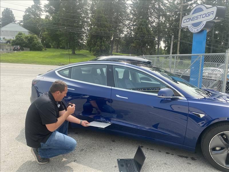 Estimating Tesla Repair